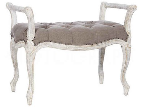 Aidan Gray Laurie Cement / Romantique Short Bench AIDCH283RMCM