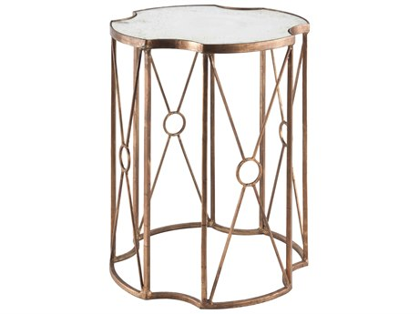 Aidan Gray Marlene 17'' Wide Round End Table AIDF190