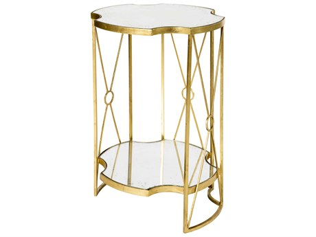 Aidan Gray Marlene Tall Double 17'' Wide Round End Table
