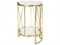 Marlene Tall Double 17'' Wide Round End Table