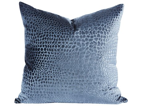 Aidan Gray Mineral No-5 Blue 22'' Square Pillow AIDP22MINNO5