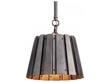 Aidan Gray Gun Metal 10'' Wide Mini Pendants AIDL716SGMCHANHOM