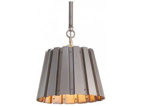 Aidan Gray Nickel 10'' Wide Mini Pendants AIDL716SNKLCHANHOM
