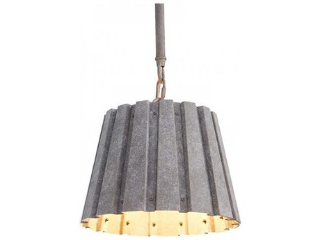 Aidan Gray Zinc 10'' Wide Mini Pendants AIDL716SZNCCHANHOM