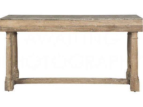 Aidan Gray Miranda Stone 60''W x 18''D Rectangular Console Table AIDF715