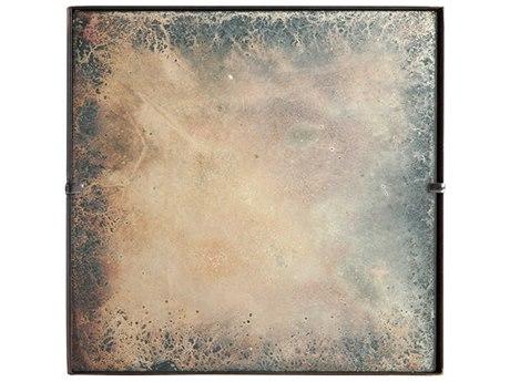 Aidan Gray Burnt Zinc Wall Mirror AIDDM176S