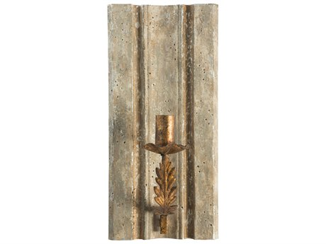 Aidan Gray Oxford Cathedral Greige Wall Candle Holder (Sold in 2) AIDWC16