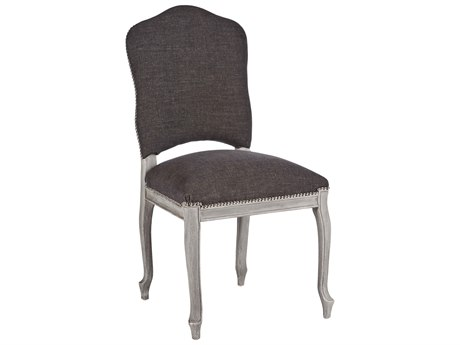 Aidan Gray Painted West Storm / Stonewood Gray Dining Side Chair (Sold in 2) AIDCH453SGST