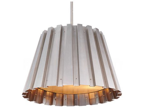 Aidan Gray Nickel 14'' Wide Pendant AIDL716MNKLCHANHOM
