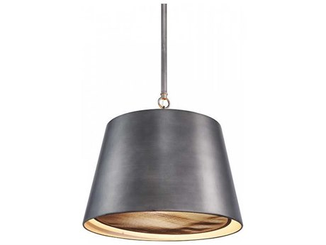 Aidan Gray Gun Metal 15'' Wide Pendant AIDL717GMCHANHOM