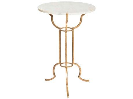 Aidan Gray Portrack 14'' Wide Round Pedestal Table AIDF271
