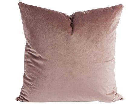 Aidan Gray Rose No-01 Dusty Rose 22'' Square Pillow AIDP22ROSENO1