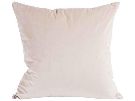 Aidan Gray Rose No-02 Pink 22'' Square Pillow AIDP22ROSENO2