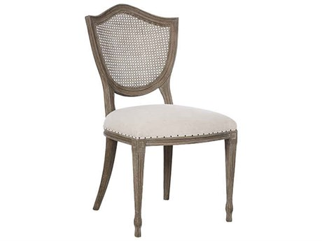 Aidan Gray Shield Cane Back Dining Side Chair (Sold in 2) AIDCH454NGCLCB