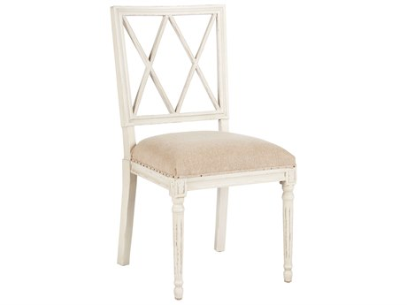 Aidan Gray Swedish Textured Linen / Antique Gray Dining Side Chair (Sold in 2) AIDCH457AGTL