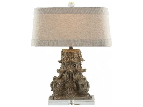 Aidan Gray Metallic Brown Table Lamp AIDL92