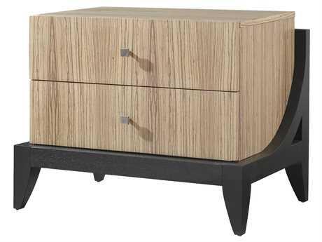 Allan Copley Designs Bonita 31 x 21 Rectangular Zebrawood Nightstand AN3070328