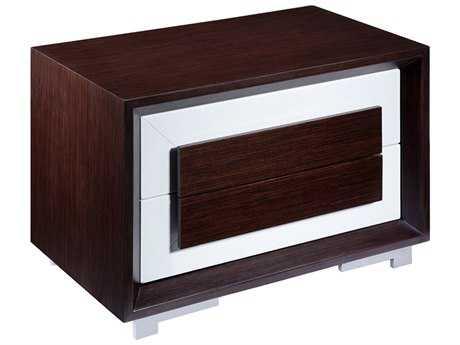 Allan Copley Designs CJ 30''W x 18''D Rectangular Walnut Night Stand AN3120128