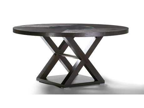 Allan Copley Designs Halifax 60 Round Espresso Dining Table AN341004