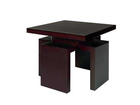 Allan Copley Designs Sebring 26 Square Mocha End Table AN3050502MO