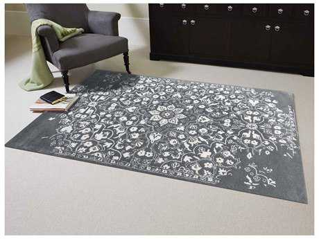 Amer Rugs Artist Gray-White Rectangular Area Rug ARART11HALC