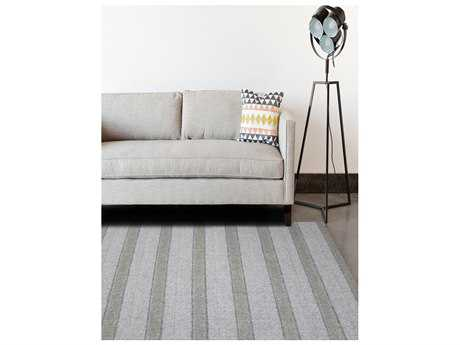Amer Rugs Birkdale Light Gray Rectangular Area Rug ARBIR3