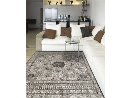 Amer Rugs Cambridge Light Gray Rectangular Runner Area Rug ARCAM31LIGHTGRAY