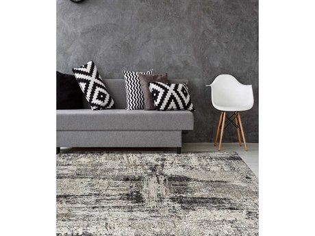 Amer Rugs Cambridge Silver Rectangular Runner Area Rug ARCAM49SILVER