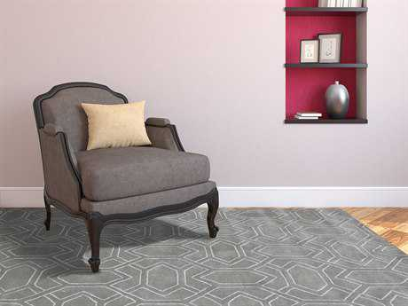 Amer Rugs City Cement Gray Rectangular Area Rug ARCIT29C