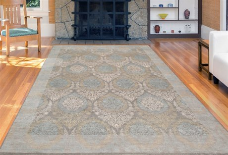Amer Rugs Dazzle Silver Sand Rectangular Area Rug ARDAZ5