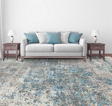 Amer Rugs Essence Blue Rectangular Area Rug ARESS2