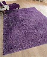 Metro Purple Rectangular Area Rug