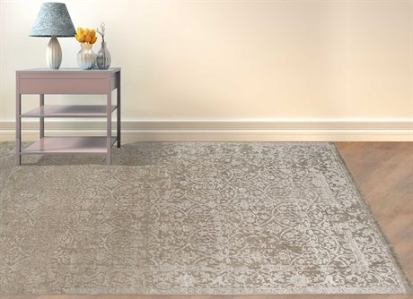 Amer Rugs Mount Route Silver Sand Rectangular Area Rug ARMRT23