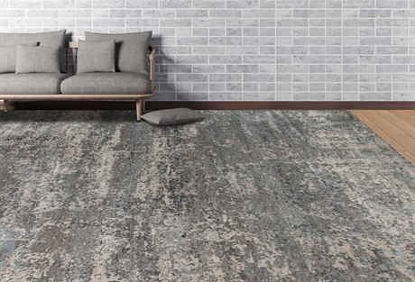 Amer Rugs Mystique Cool Gray Rectangular Area Rug ARMYS23