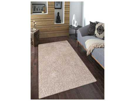 Amer Rugs Peacock Champagne Rectangular Area Rug