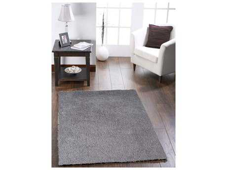 Amer Rugs Peacock Silver Rectangular Area Rug