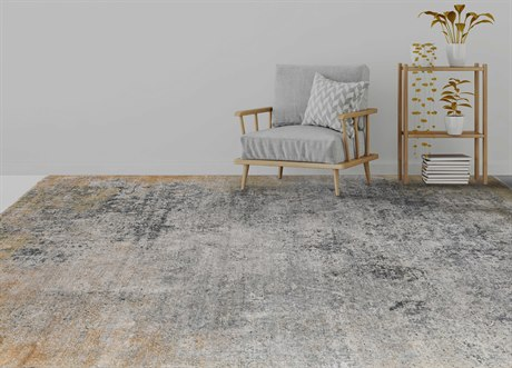 Amer Rugs Pearl Rust / Gray Rectangular Area Rug ARPEA56