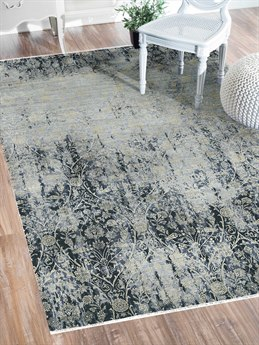 Amer Rugs Pearl Water Blue Rectangular Area Rug ARPEA7