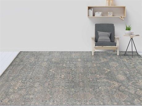 Amer Rugs Sapphire Gray / Beige Rectangular Area Rug ARSAP3