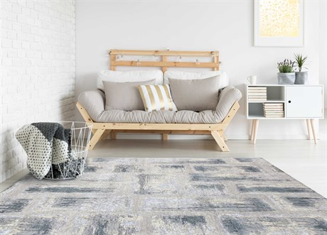 Amer Rugs Synergy Light Gray Rectangular Area Rug ARSYN41