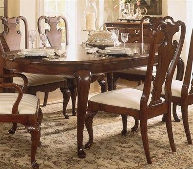 American Drew Cherry Grove Classic Antique 66 x 44 Oval Leg Table AD792760
