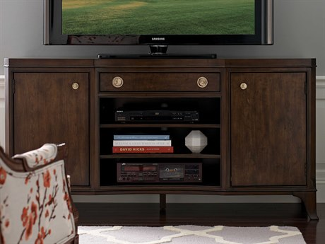 American Drew Grantham Hall Deep Coffee Tone 62''L x 19''W Entertainment Console AD512585