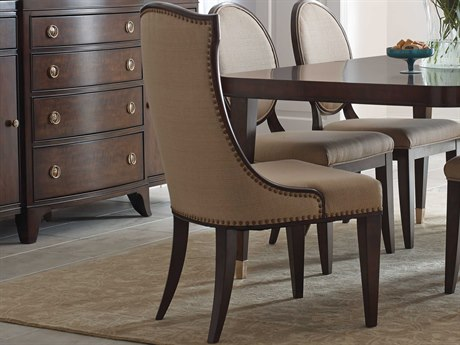 American Drew Grantham Hall Deep Coffee Tone Dining Side Chair (Sold in 2) AD512622