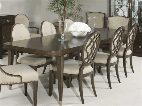 American Drew Grantham Hall Deep Coffee Tone 112''L x 40''W Rectangular Dining Table AD512760