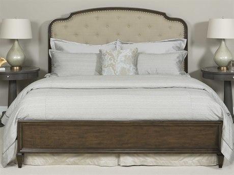 American Drew Grantham Hall Deep Coffee Tone California King Size Panel Bed AD512317R