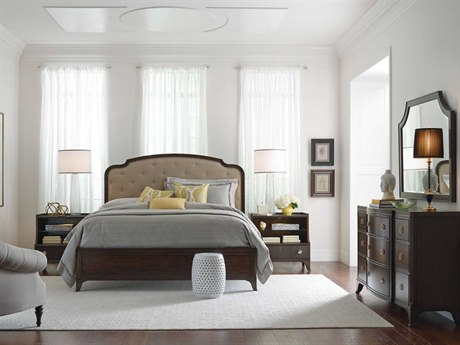 American Drew Grantham Hall Deep Coffee Tone Bedroom Set AD512313RSET