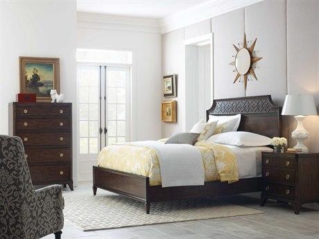 American Drew Grantham Hall Deep Coffee Tone Bedroom Set AD512335RSET