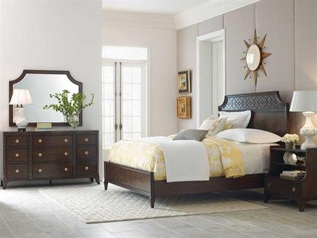 American Drew Grantham Hall Deep Coffee Tone Bedroom Set AD512335RSET2