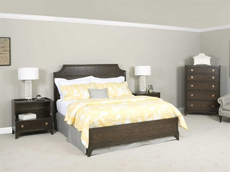 American Drew Grantham Hall Deep Coffee Tone Bedroom Set AD512335RSET3