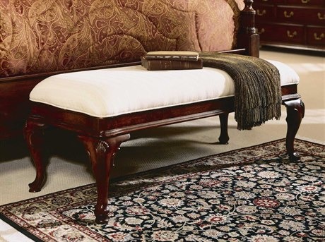 American Drew Cherry Grove Classic Antique Bed Bench